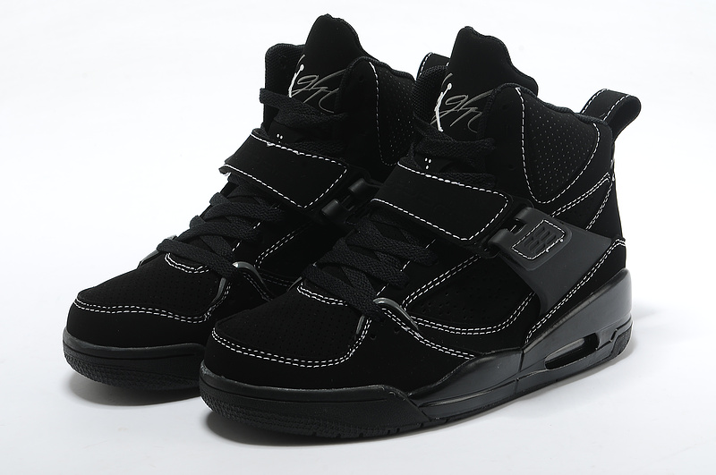 Air Jordan Flight 4.5 All Black For Women