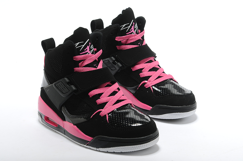 Air Jordan Flight 4.5 Pink Black For Women