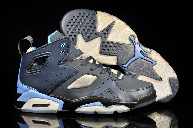 Handsome Air Jordan Fltclb '911 Black Blue White Shoes