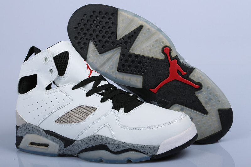 Handsome Air Jordan Fltclb '911 White Black Grey Shoes