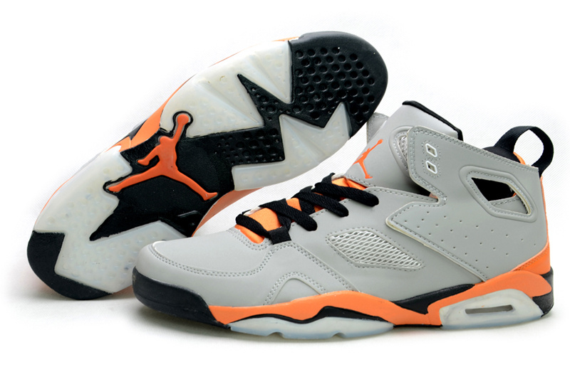 Handsome Air Jordan Fltclb 911 Black Grey Orange Shoes