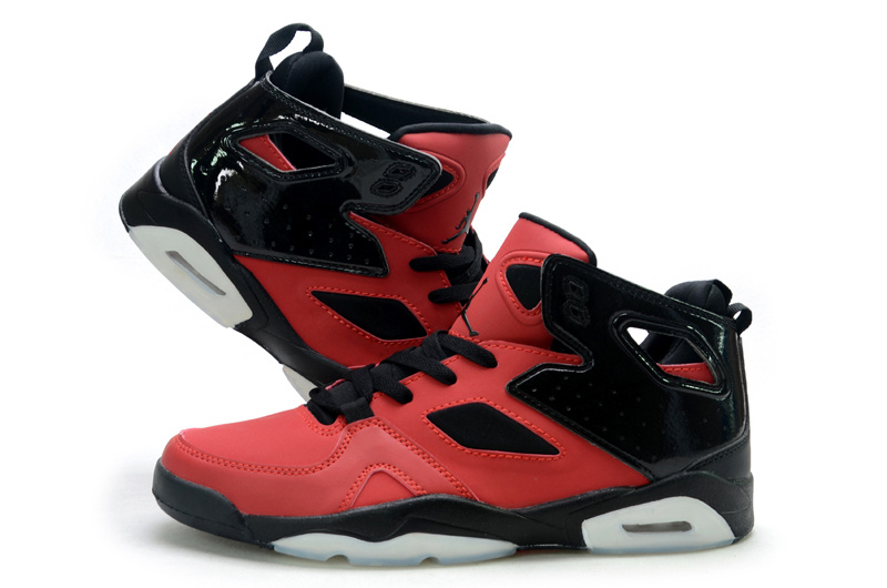 Handsome Air Jordan Fltclb 911 Black Red White Shoes