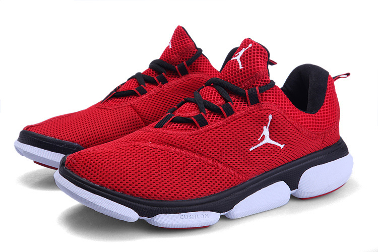 2012 Jordan Running Shoes Red Black White