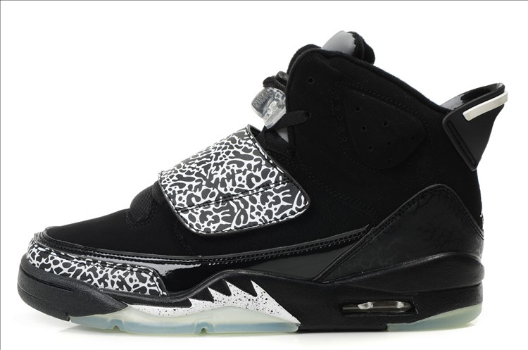 Air Jordan Son Of Mars Black Silver