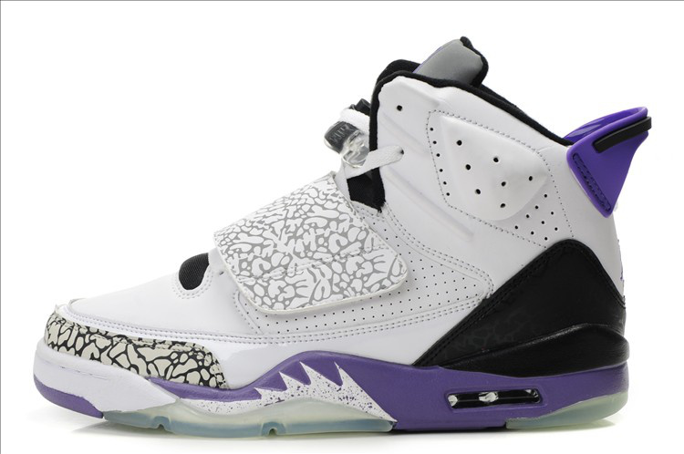 Air Jordan Son Of Mars White Black Purple