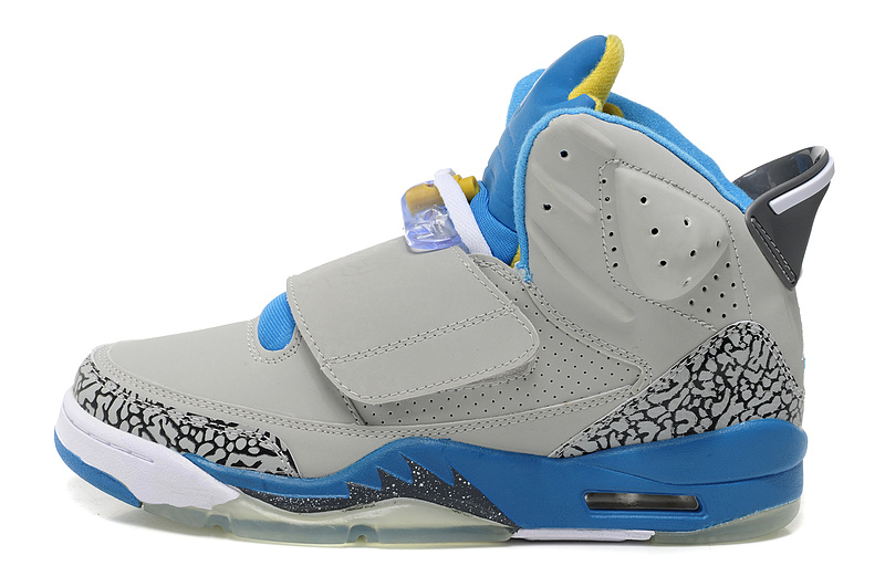 Air Jordan Son Of Marss Grey Blue Yellow