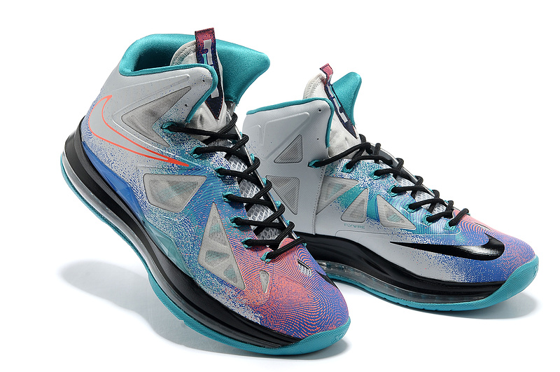 Classic Nike Lebron James 10 Colorful Shoes