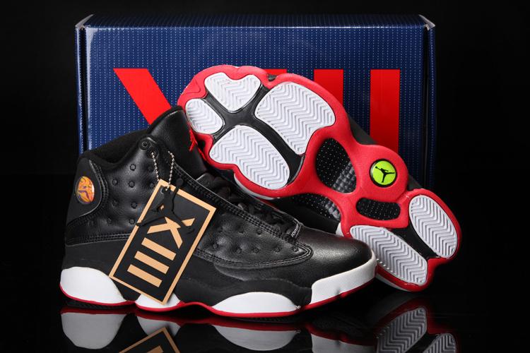 san francisco a34f1 bf05a 2013 Cool Summer Jordan 13 Retro Black White Red Shoes