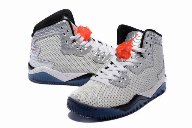 Jordan Air Spike 40 Forty PE Fire Red White Fire Red Black Shoes