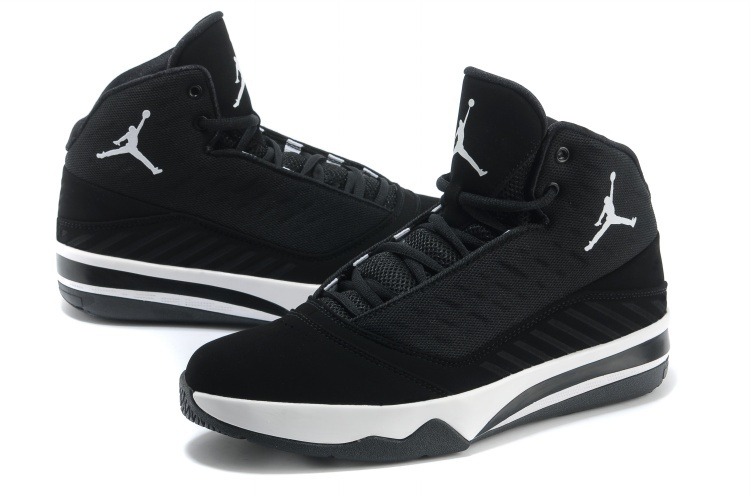 black and white jordan shoes