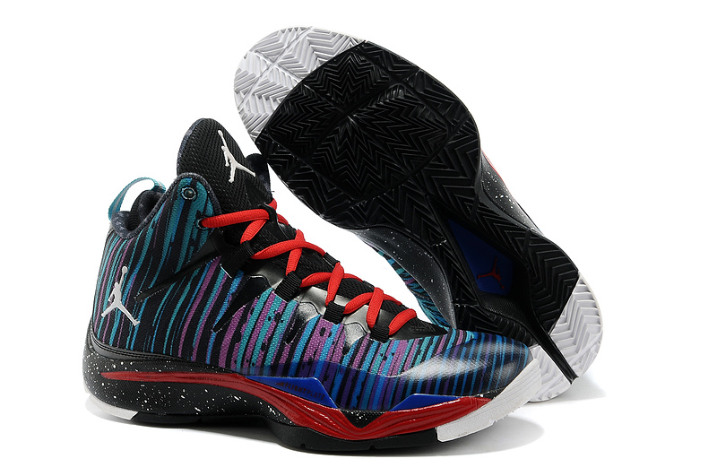 Jordan Blake Griffin 2 Colorful Blue Black Red Shoes