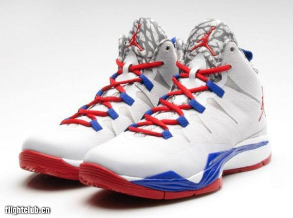 Jordan Blake Griffin 2 White Red Blue Shoes