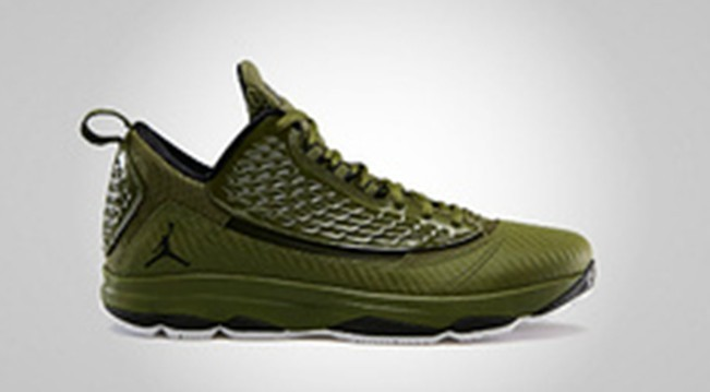 Cheap Authentic Jordan CP3 2 Green Brown Shoes