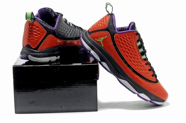 buy popular 70c1e dd45e Jordan CP3 2 Orange Black Purple Shoes