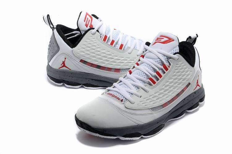 Jordan CP3 2 White Grey Red Shoes