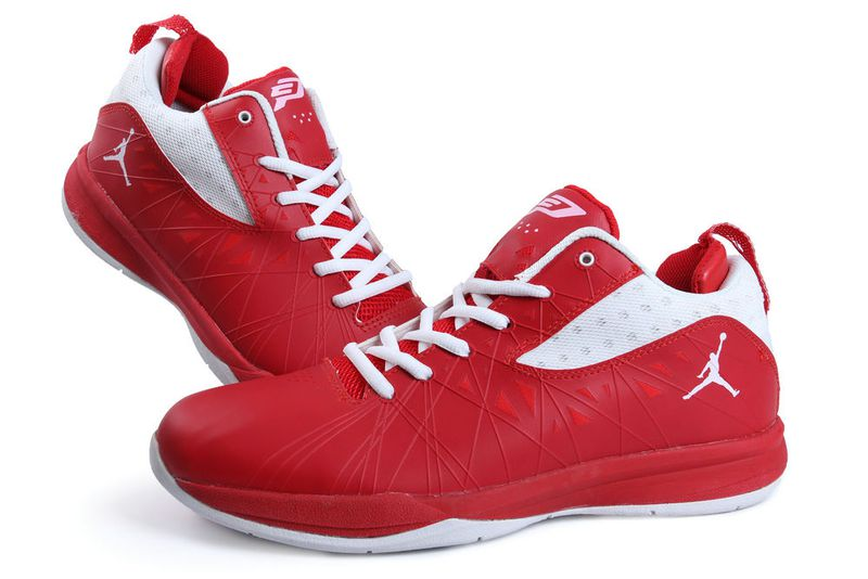Jordan CP3 5 Red White Shoes