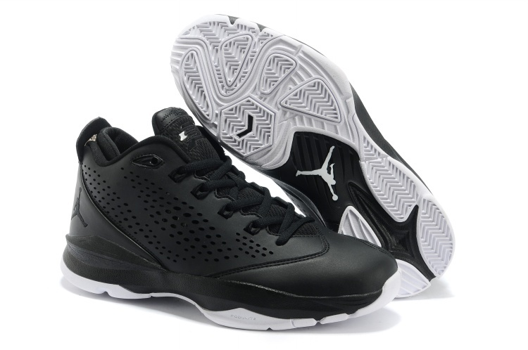Jordan CP3 7 Black White Basketball Shoes