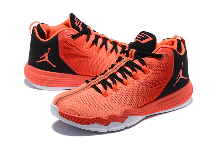 a71fd9f2a6f544 Jordan CP3 IX AE Infrared 23 Black Bright Mango Shoes