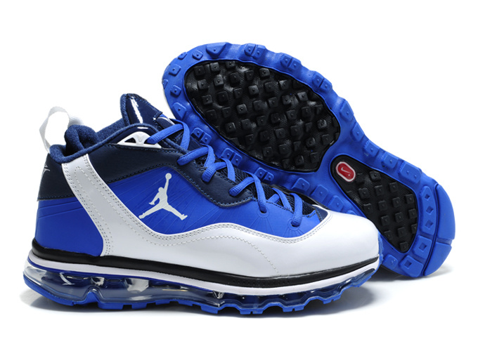 Jordan Melo M8+Max 09 Blue White Black Shoes