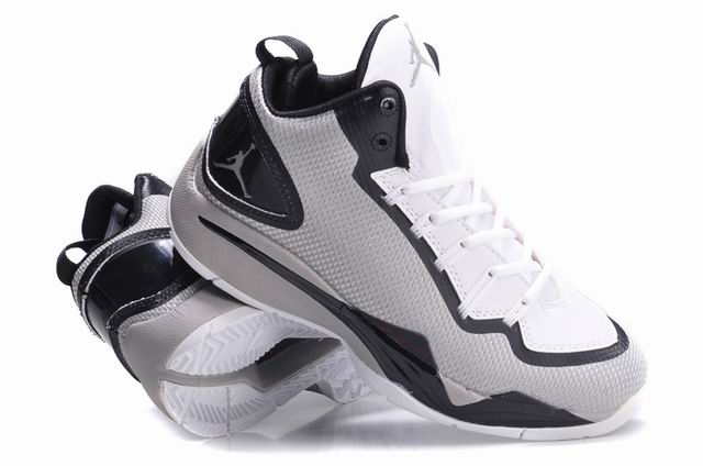 Jordan SuperFly 2 PO Wolf Grey White Black Shoes
