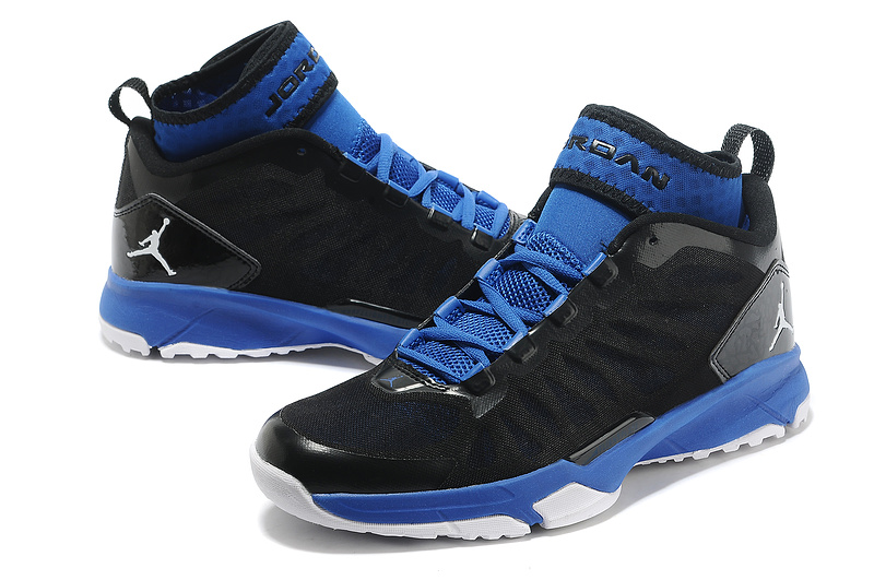 Jordan Trunner Dominte Pro Black Blue Shoes