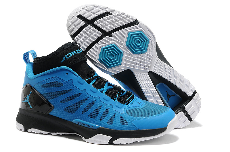 Jordan Trunner Dominte Pro Black Blue White Shoes