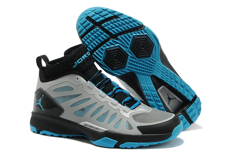 Jordan Trunner Dominte Pro Grey Black Blue Shoes