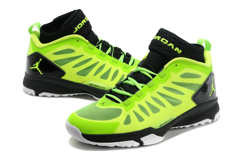 Jordan Trunner Dominte Pro Yellow Black White Shoes
