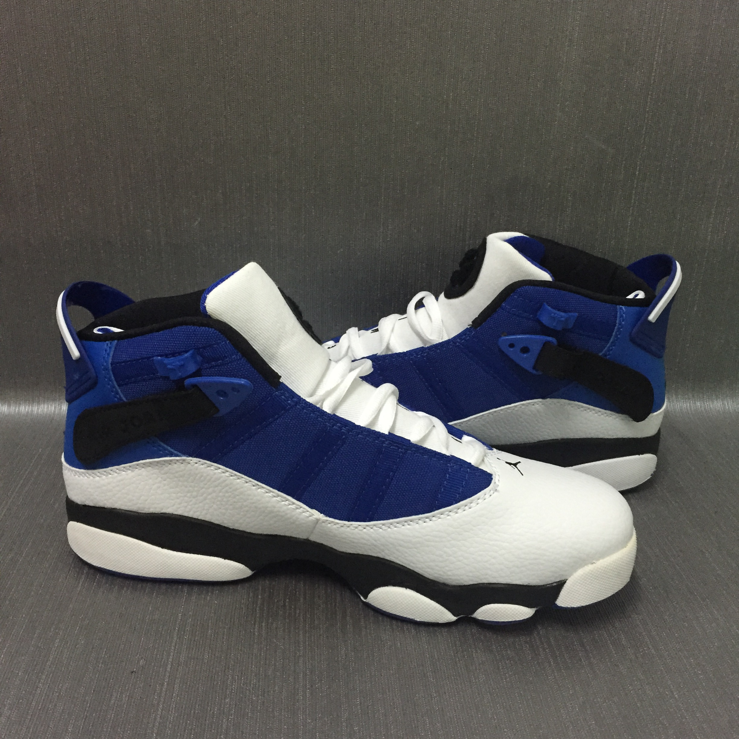 Cheap Air Jordans 6 Champion Blue White Shoes