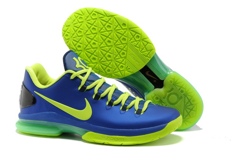 Nike Kevin Durant 5 Low Blue Green Shoes