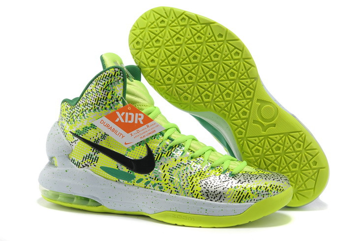 Nike Kevin Durant All Star White Green Shoes
