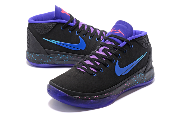 Nike Kobe Bryant AD Mid Black Cool Colorful Shoes