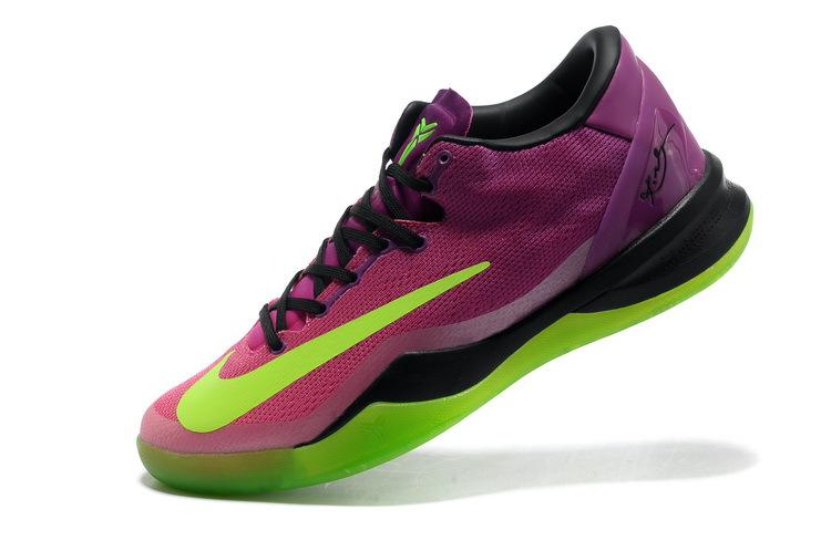 nike kobe shoes 8 purple and green
