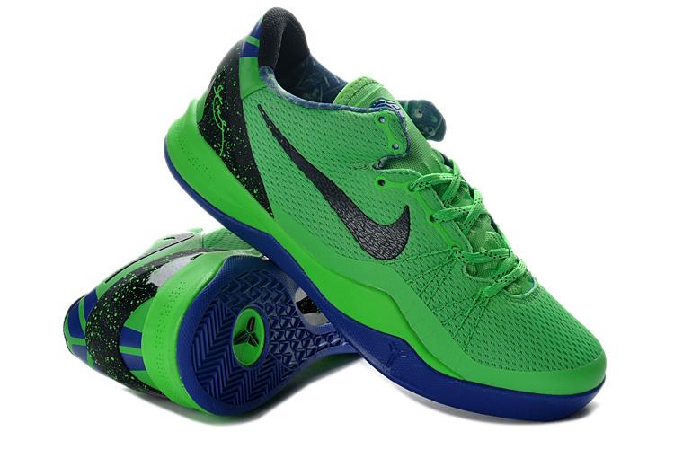 c2398d43f9b Nike Kobe Bryant 8 Playoff Green Black Blue Shoes -  78.00