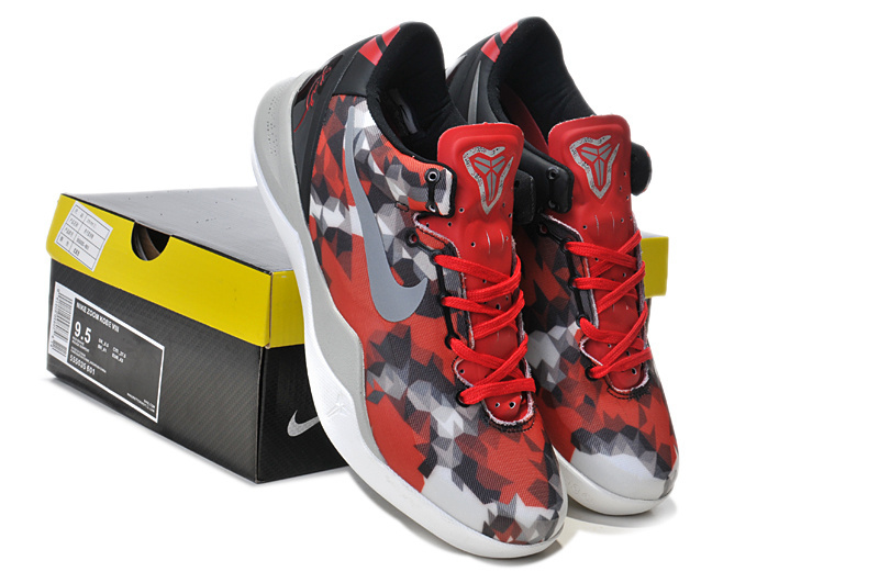 New Nike Kobe Bryant 9 Red Snake Colorway Shoes