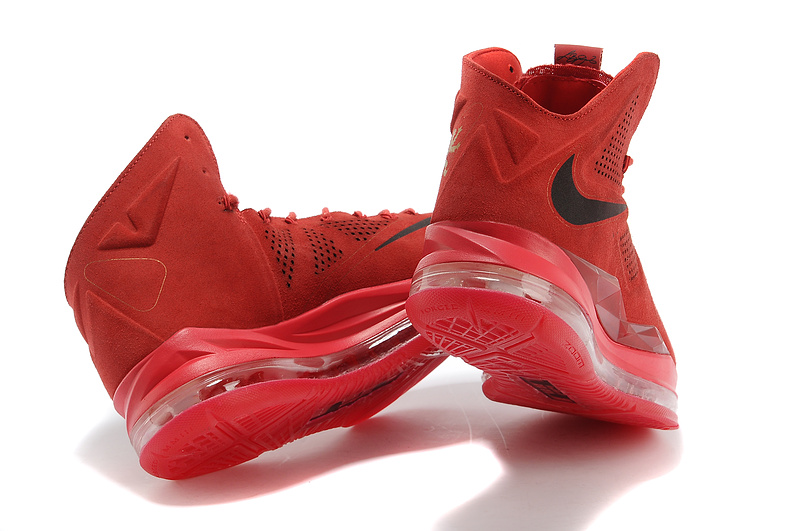 c3148fc5cea Cheap New Nike Lebron James 10 EXT All Red Shoes -  250.00