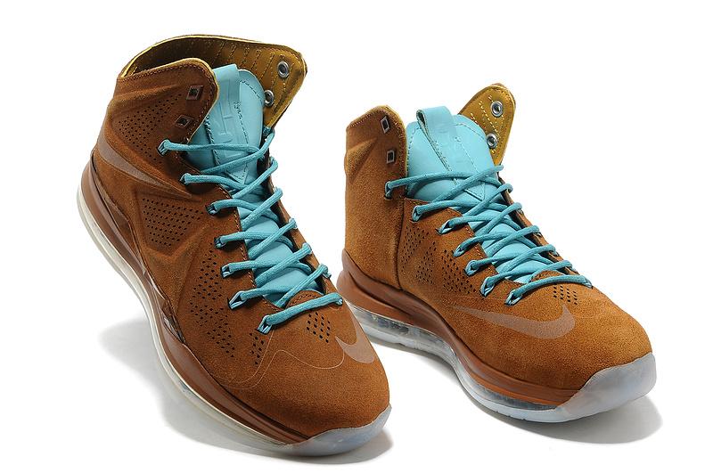 James Lebron Ext Shoes Brown