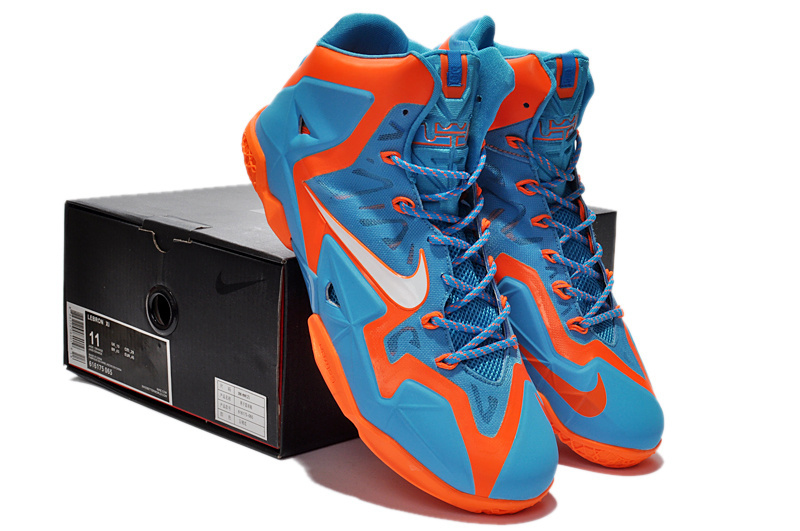 lebron james orange and blue shoes See this and similar NIKE shoes Fusing  acg sneakers women ...