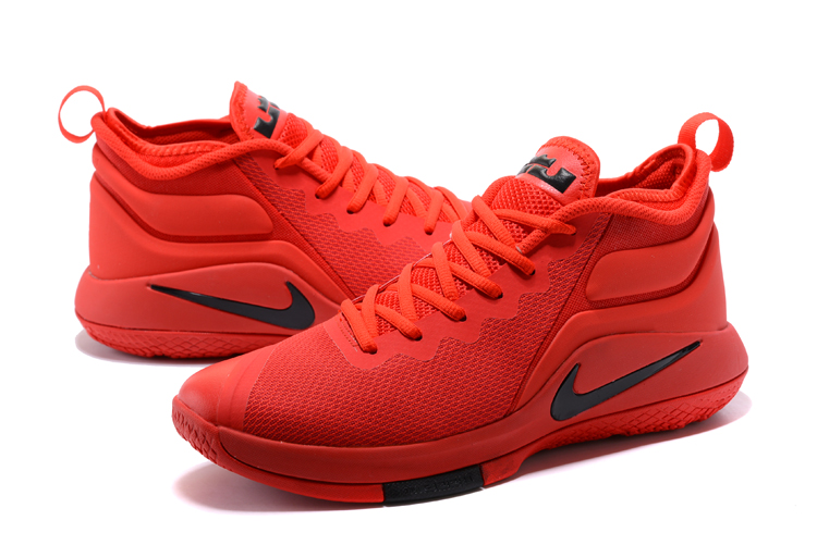 Nike Lebron James Wintness 2 Chinese Red Shoes