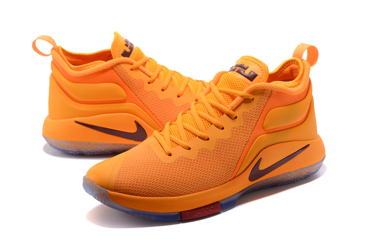 Nike Lebron James Wintness CAVS Yellow Shoes