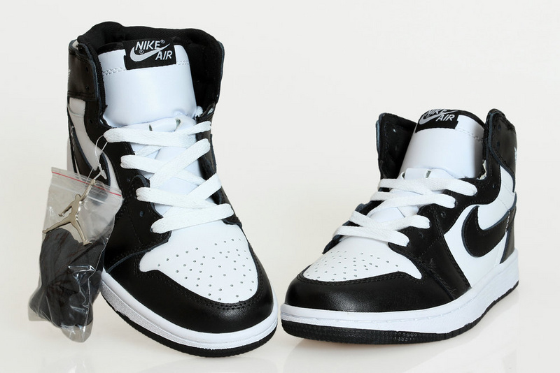 Cheap Real 2015 Air Jordan 1 Black White