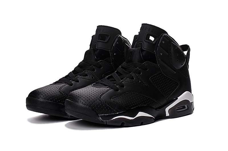 New Air Jordan 6 Black Cat 2016 Shoes