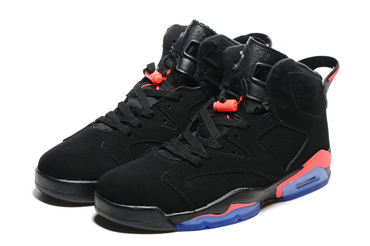New Air Jordan 6 Black Infrared23 Shoes