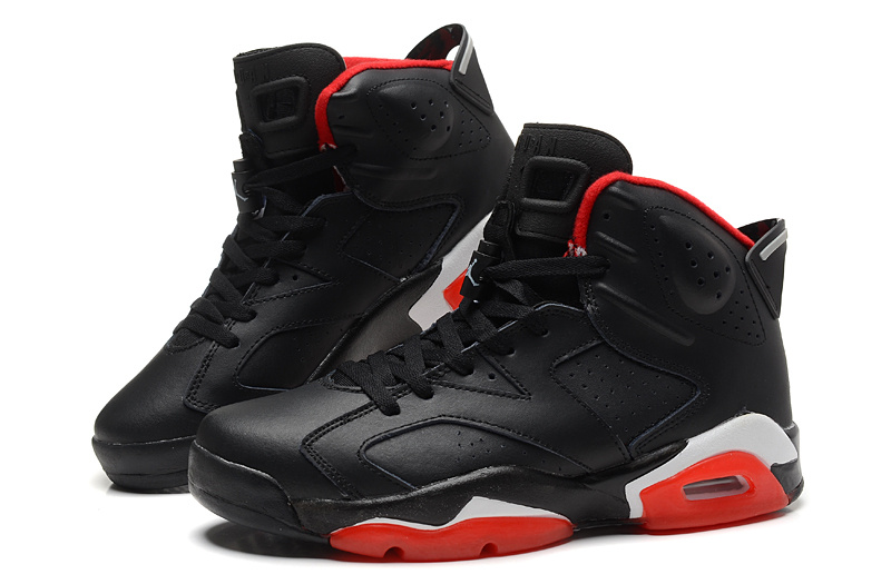 Cheap Real 2015 Air Jordan 6 Black Red