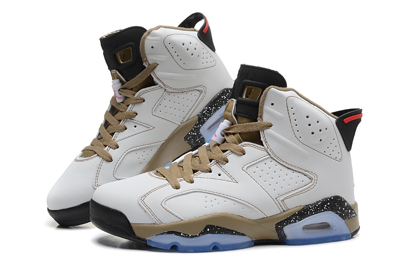 Cheap Real 2015 Air Jordan 6 Grey Gold Black