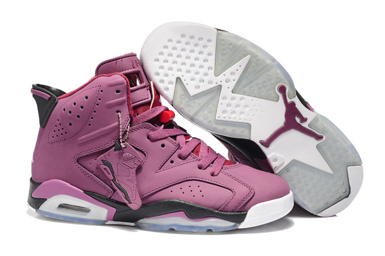 2013 Jordan 6 Retro Pink White Shoes