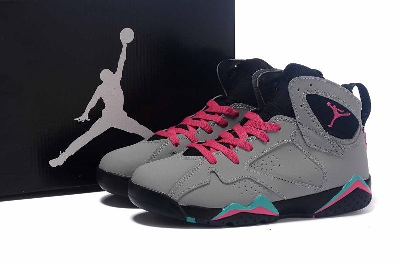 New Air Jordan 7 GS Miami Vice Shoes
