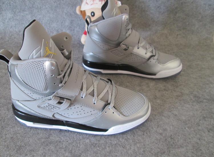 2015 New Air Jordan Flight 4.5 Dream Silver Shoes For Women
