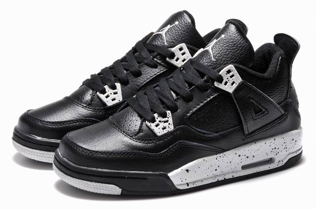 New Girls Air Jordan 4 Oreo for sale 2015 Shoes