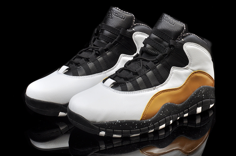 New Jordan 10 Retro Grey Black Brown Shoes